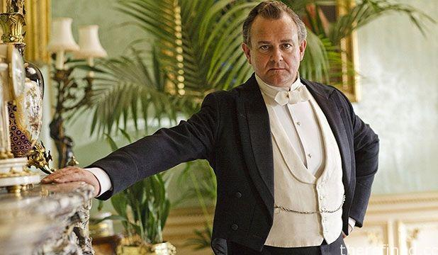 Downton Abbey's Lord Grantham in Evening Dress